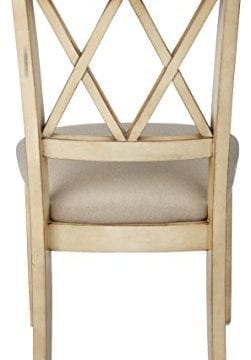 Ashley Furniture Signature Design Mestler Dining Side Chair Upholstered Seat Set Of 2 Antique White 0 1 251x360