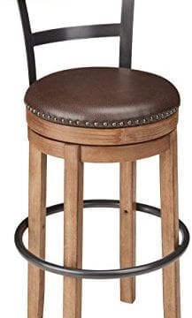 Ashley Furniture Signature Design Pinnadel Swivel Bar Stool Pub Height Light Brown 0 217x360