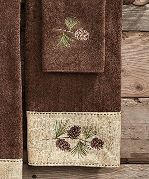 Black Forest Decor Pine Haven Cabin Hand Towel 0 300x360