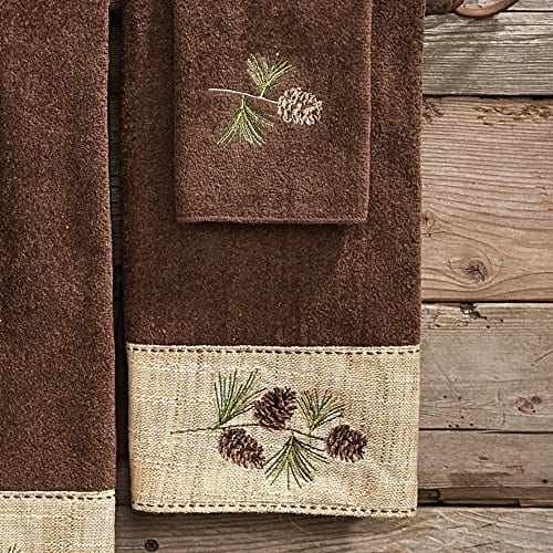 Black Forest Decor Pine Haven Cabin Hand Towel 0