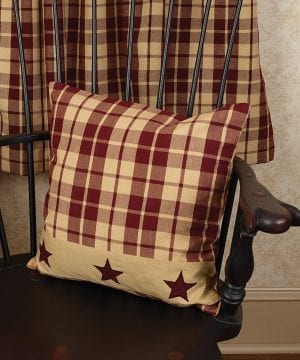 Burgundy Farmhouse Star 16 Pillow 0 0 300x360