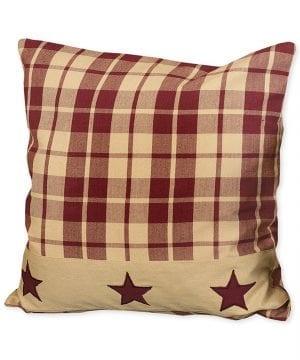 Burgundy Farmhouse Star 16 Pillow 0 300x360