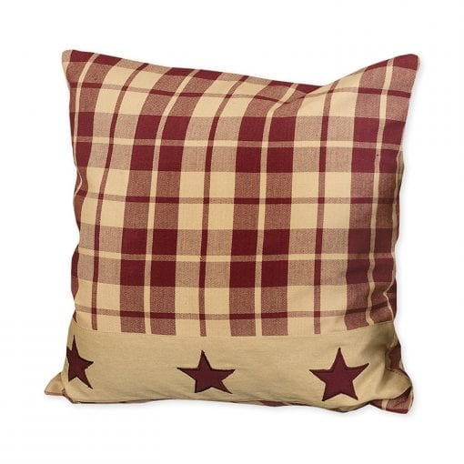 Burgundy Farmhouse Star 16 Pillow 0 510x510