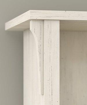 Bush Furniture Salinas Hall Tree With Storage Bench In Antique White 0 1 300x360