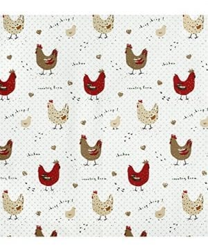 Cackleberry Home Farmhouse Chicken Kitchen Towels 100 Cotton Set Of 3 0 0 300x360