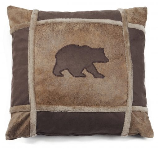 Carstens Bear Grid Pillow 0 510x482