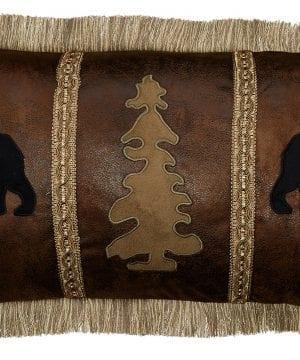 Carstens Bear Tree Bear Pillow 0 300x360