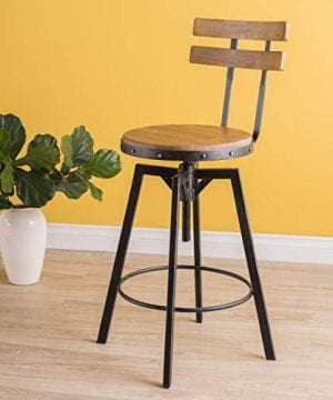 Christopher Knight Home Fenix Firwood Antique Barstool 0 300x360