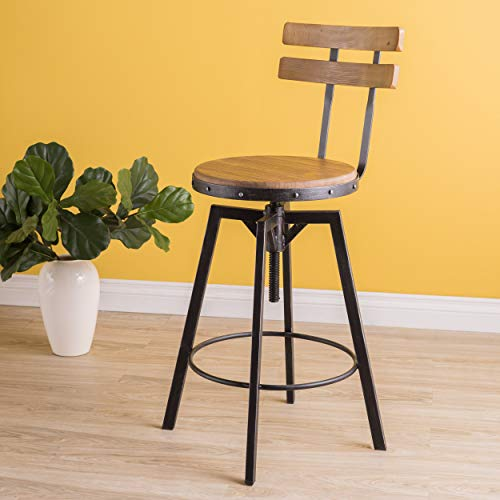 Christopher Knight Home Fenix Firwood Antique Barstool 0