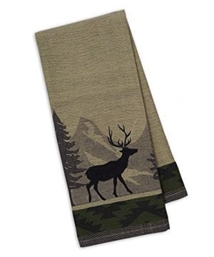 DII Cotton Jacquard Dish Towels 20x28 Set Of 3 Decorative Tea Towels For Everyday Kitchen Cooking And Baking Walk In The Woods 0 3 300x360