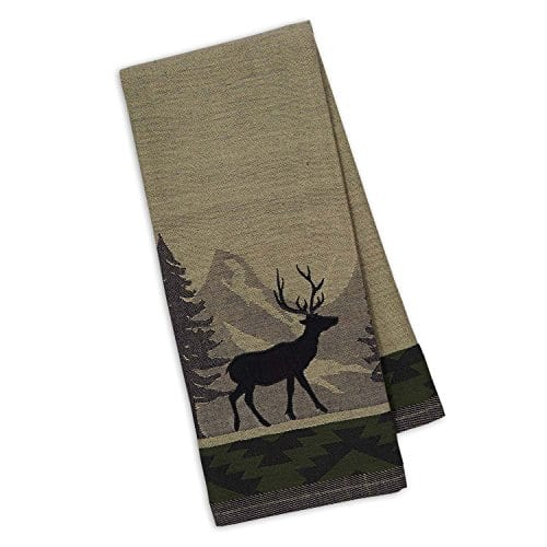 DII Cotton Jacquard Dish Towels 20x28 Set Of 3 Decorative Tea Towels For Everyday Kitchen Cooking And Baking Walk In The Woods 0 3