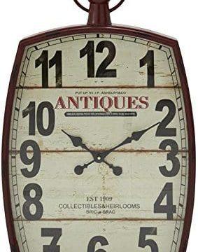 Deco 79 Metal Wall Clock 19 By 33 0 283x360