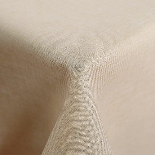 Deconovo Decorative Wrinkle Resistant Linen Look Square Tablecloth For Dining Room 0 3