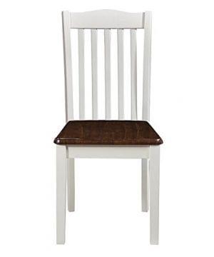 Dorel Living Shiloh Dining Chairs 2 Pack Dark Walnut White 0 1 300x360