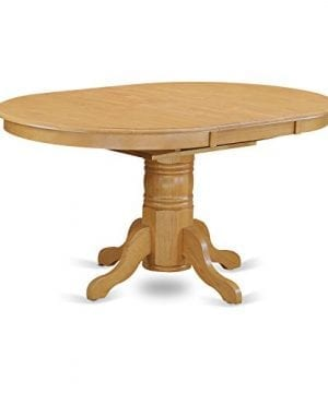 East West Furniture AVVA7 OAK C 7 Piece Dining Table Set 0 2 300x360
