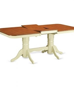 East West Furniture NAAV7 WHI W 7 Piece Dining Table Set 0 1 300x360