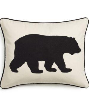 Eddie Bauer Bear Twill Decorative Pillow Black 0 300x360