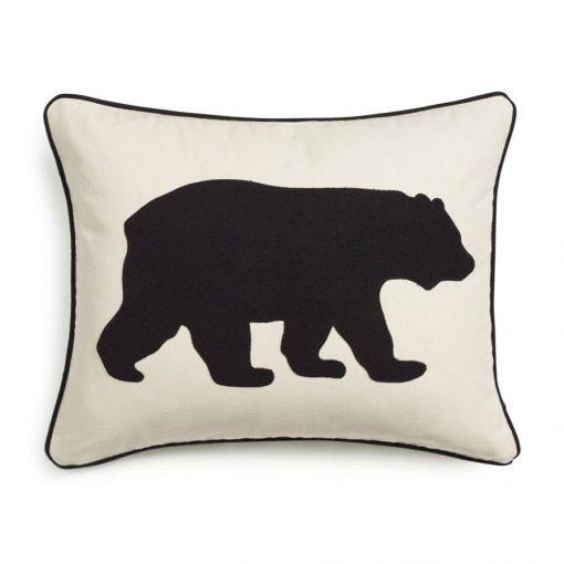 Eddie Bauer Bear Twill Decorative Pillow Black 0 510x510