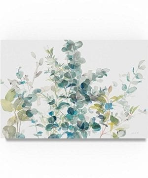 Eucalyptus I White Crop By Danhui Nai 16x24 Inch Canvas Wall Art 0 300x360