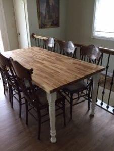 Farm Dining Table Leg 29 X 3 0 1 225x296