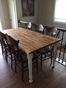 Farm Dining Table Leg 29 X 3 0 1