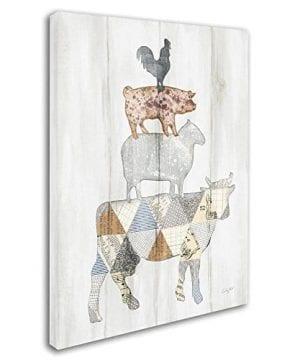 Farm Family I By Courtney Prahl 14x19 Inch Canvas Wall Art 0 0 300x360
