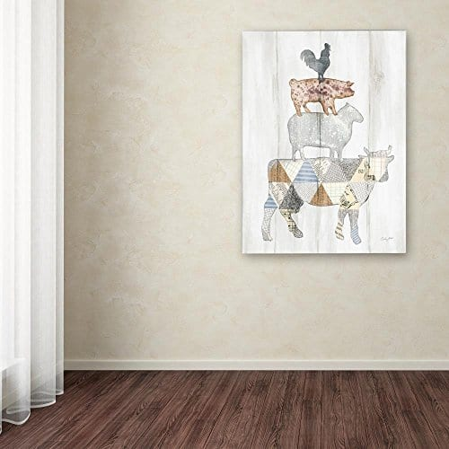 Farm Family I By Courtney Prahl 14x19 Inch Canvas Wall Art 0 1