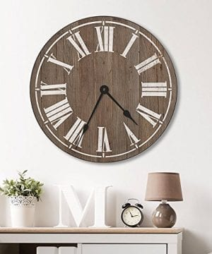 Farmhouse Clock Wall Stencil Reusable Stencils For Walls Easy DIY Wall Design Medium 0 300x360