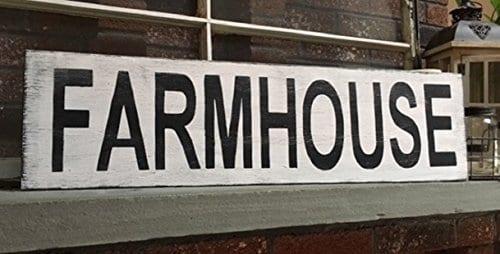 Farmhouse Sign Farmhouse Decor 48 Horizontal Rustic Wood Distressed Shabby Style Decor 0
