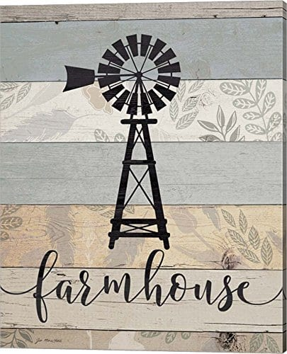 Farmhouse By Jo Moulton Canvas Art Wall Picture Gallery Wrap 16 X 20 Inches 0