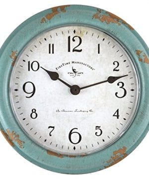 FirsTime 25678 Teal Patina Wall Clock Aged 0 300x360