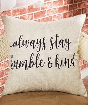 Fjfz Cotton Linen Home Decorative Throw Pillow Case Cushion Cover For Sofa Couch Love Compass Arrow White And Black 18 X 18 0 0 300x360