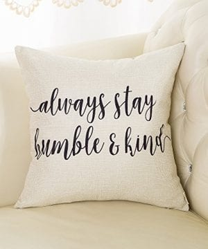 Fjfz Cotton Linen Home Decorative Throw Pillow Case Cushion Cover For Sofa Couch Love Compass Arrow White And Black 18 X 18 0 1 300x360