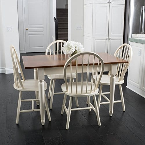 Great Deal Furniture Gates 5-Piece Spindle Wood Dining Set