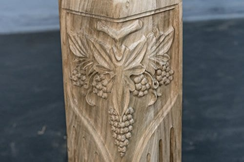 Hand Carved Semi Finished Table Leg 4 Pieces Set 0 1