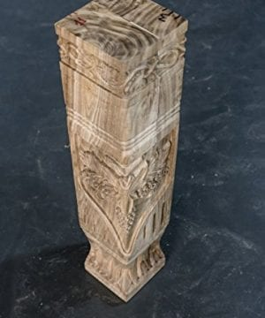 Hand Carved Semi Finished Table Leg 4 Pieces Set 0 3 300x360