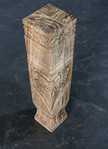 Hand Carved Semi Finished Table Leg 4 Pieces Set 0 3