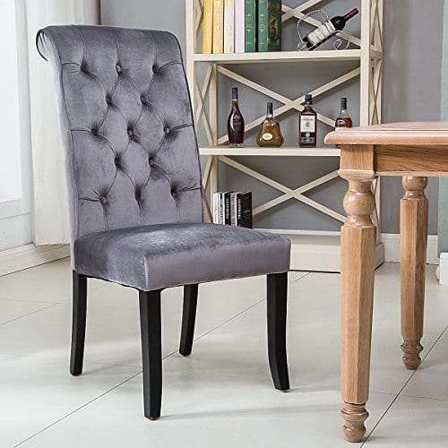 Strange Harper Bright Design Tufted Armless Upholstered Accent Chair Set Of 2 Grey Gray Pdpeps Interior Chair Design Pdpepsorg