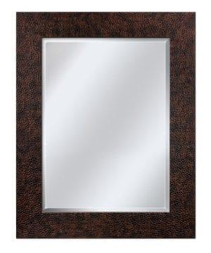 Head West Hammered Bronze Mirror 29 Inch By 35 Inch 0 300x360