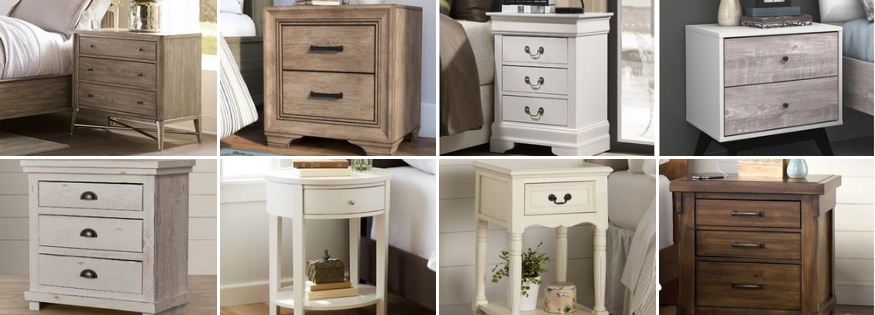 farmhouse nightstands