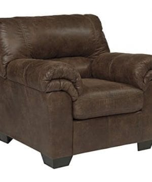 Ashley Furniture Signature Design Bladen Contemporary Plush Upholstered Arm Chair Coffee Brown 0 300x360
