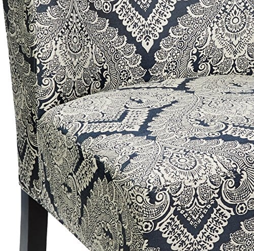 Ashley Furniture Signature Design Honnally Accent Chair Contemporary Style Sapphire 0 0