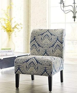 Ashley Furniture Signature Design Honnally Accent Chair Contemporary Style Sapphire 0 2 300x360