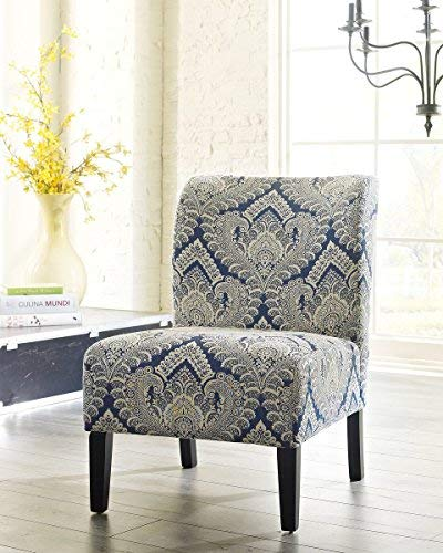 Ashley Furniture Signature Design Honnally Accent Chair Contemporary Style Sapphire 0 2