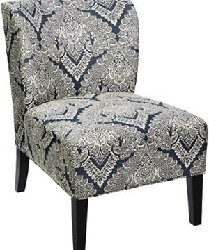 Ashley Furniture Signature Design Honnally Accent Chair Contemporary Style Sapphire 0 300x360