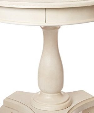 Ashley Furniture Signature Design Mirimyn End Table Cottage Style Accent Table Chipped White 0 4 300x360