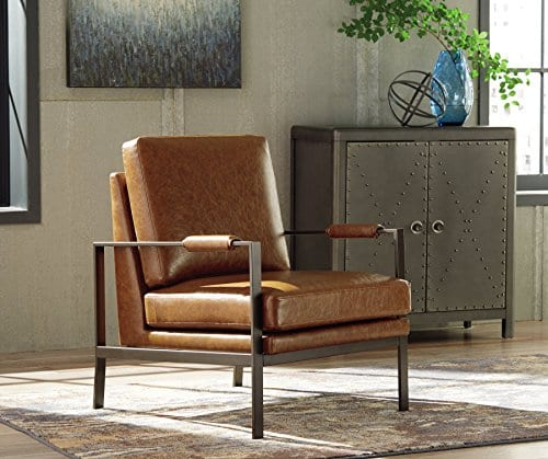 Stupendous Signature Design By Ashley Accent Chair Peacemaker Brown Pabps2019 Chair Design Images Pabps2019Com