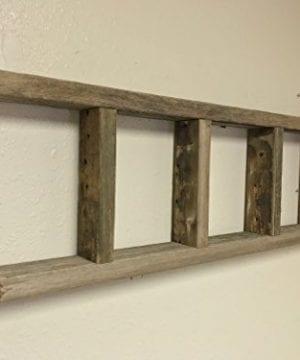 Barnwood Decor Of OKC Barnwood Ladder 2x4 Authentic Weathered Wood Ladder Made By 0 1 300x360