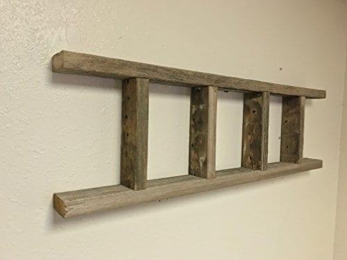 Barnwood Decor Of OKC Barnwood Ladder 2x4 Authentic Weathered Wood Ladder Made By 0 1