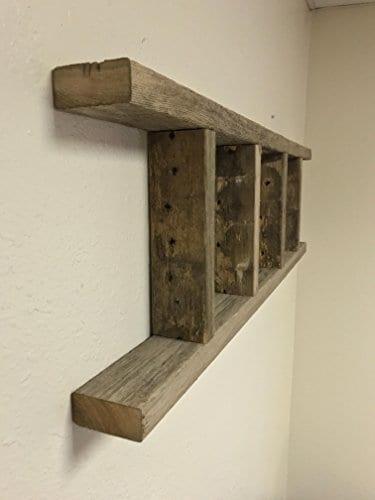 Barnwood Decor Of OKC Barnwood Ladder 2x4 Authentic Weathered Wood Ladder Made By 0 2